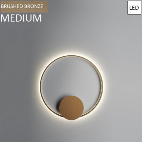 Wall/ceiling lamp Ø80cm LED Bronze