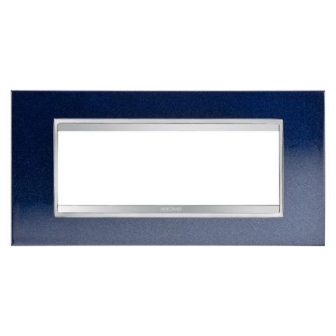 Рамка LUX 6 модула - метал - Chic Blue