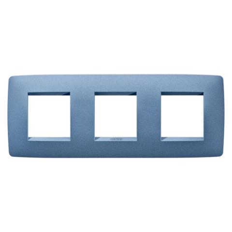 Рамка ONE International 2+2+2 хоризонтална - Sea Blue