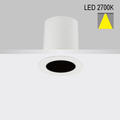 Downlight Perfetto-in 50 LED 2700K 34°
