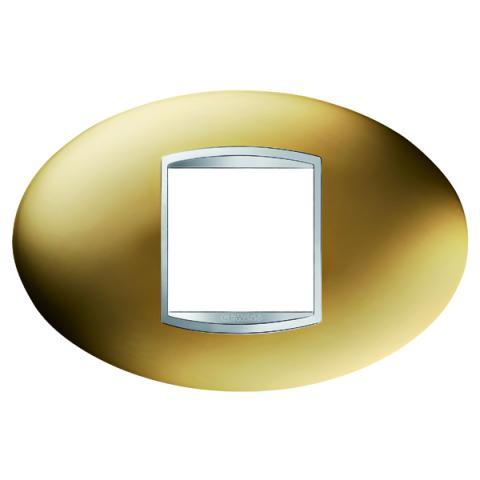 ART 2-gang plate - Gold