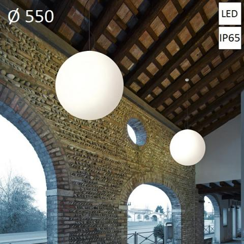 Pendant Ø550 LED 20W IP65 white