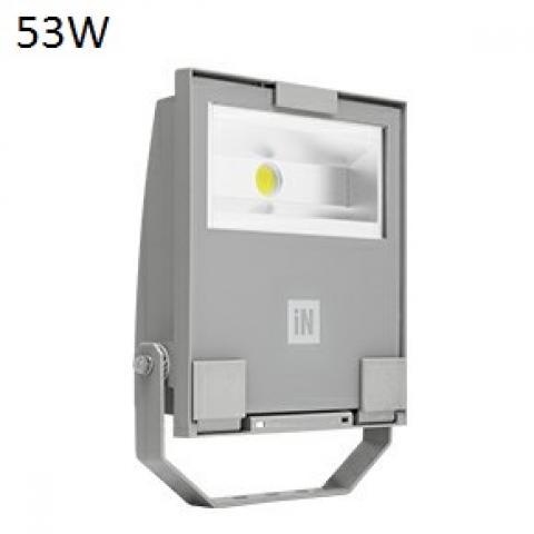 Прожектор GUELL 1 S/W LED 53W сив