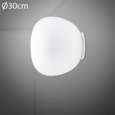 Wall/ceiling lamp Ø38cm E27 White
