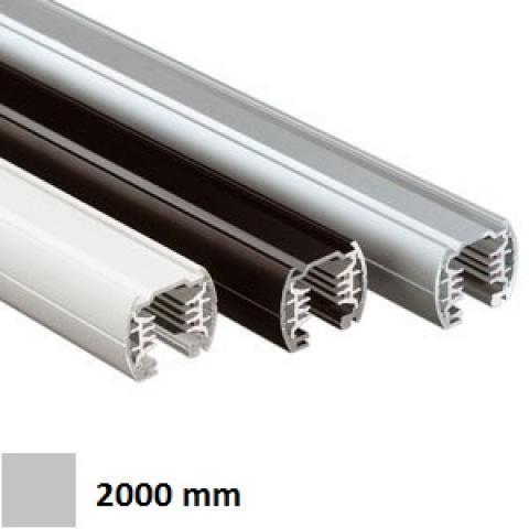 Трифазна релса LKM Round 2m сива
