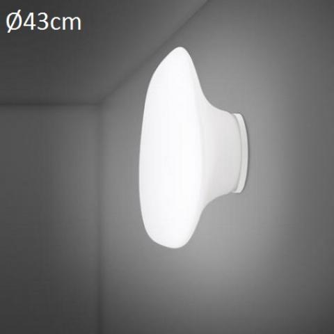 Wall/ceiling lamp Ø43cm E27 White