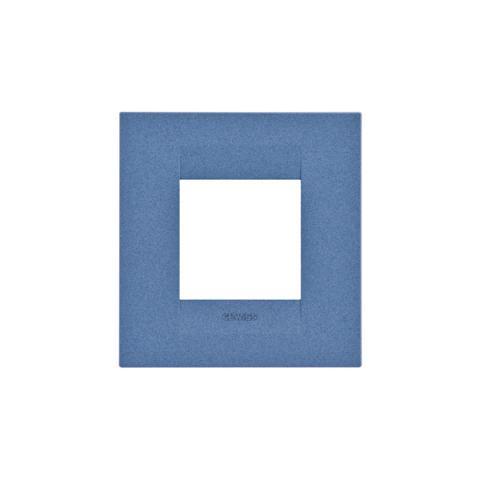 Geo International 2 gang plate - Sea Blue