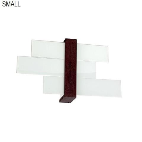 Ceiling light 40cm 1xE27 max 57W white-wood walnut