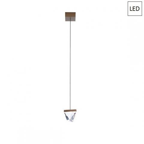 Пендел LED бронз