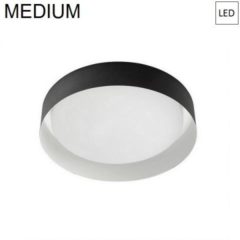 Ceiling Lamp Ø332mm LED 17W 3000K Black/White