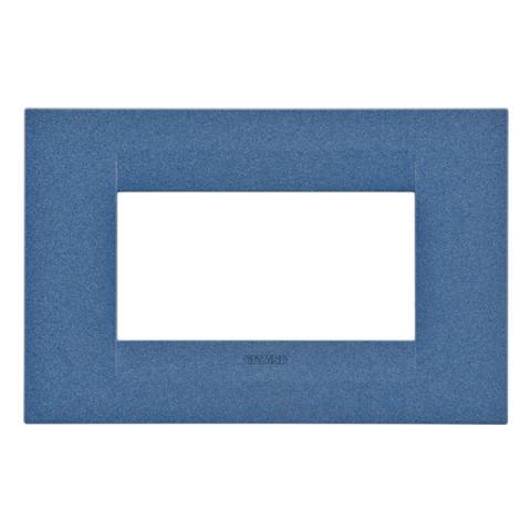 GEO plate 4 gang - Sea Blue