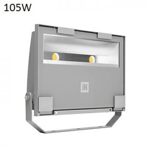 Floodlight GUELL 2 A/W LED 105W grey