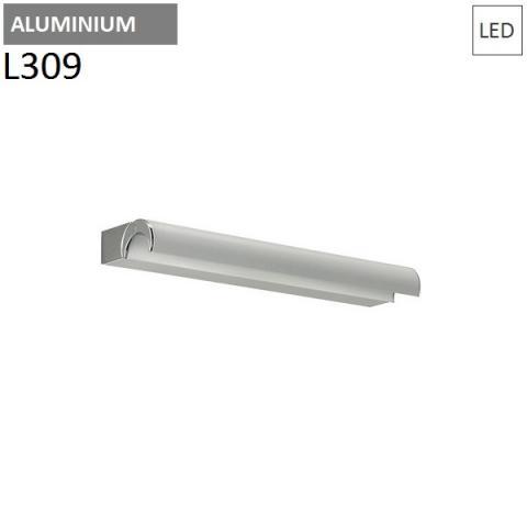 Аплик L309mm 9W LED полиран алуминий