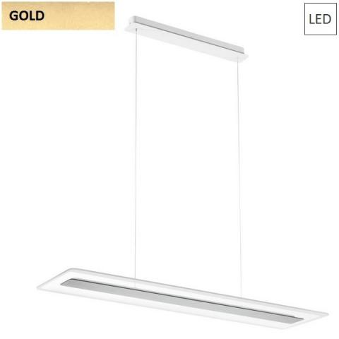 Pendant 950X250 LED 45W gold