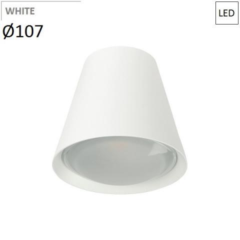 Ceiling Lamp Ø107mm LED 6W 3000K white