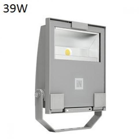 Floodlight GUELL 1 A/W LED 39W grey
