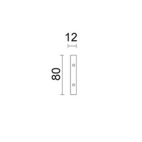 Mechanical Joint for track - 4 pcs. set