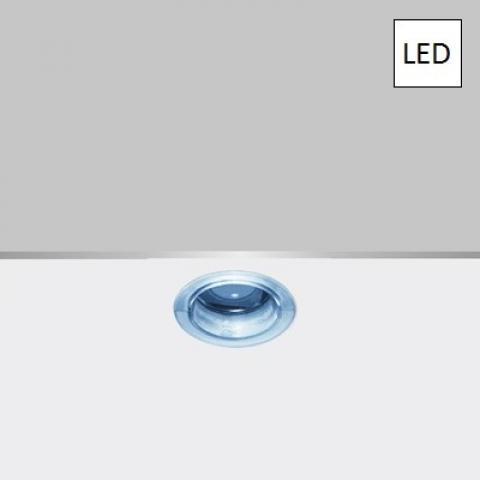 Мини-луна DJ LED синя