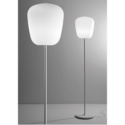 Наземна лампа Ø33cm E27 бяла