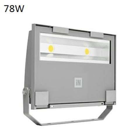 Прожектор GUELL 2 S/W LED 78W сив