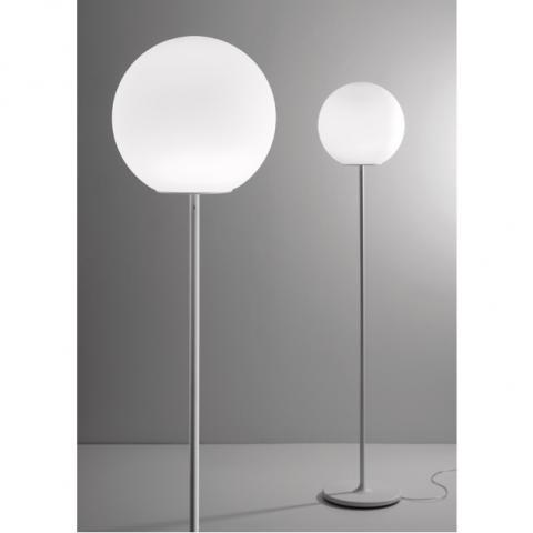 Наземна лампа Ø35cm E27 бяла