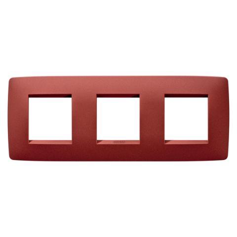 Рамка ONE International 2+2+2 хоризонтална - Ruby