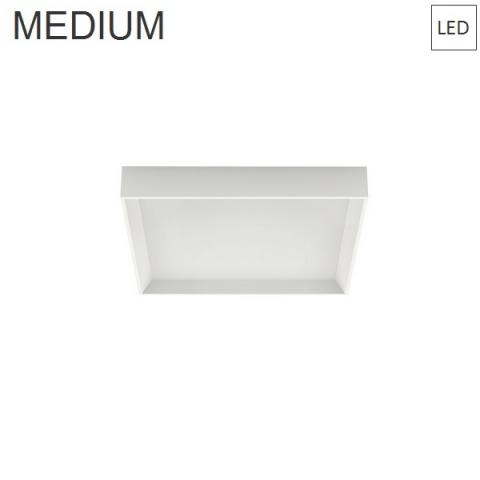 Wall/Ceiling Lamp 400x400 33W 3000K LED white
