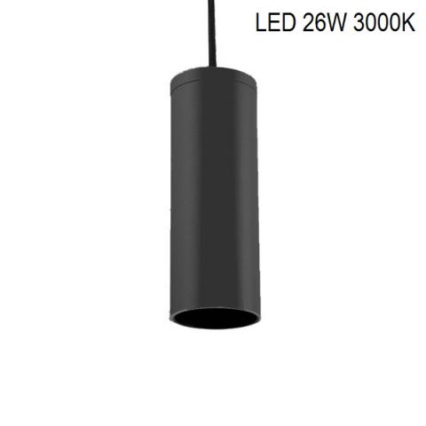 Suspension PERFETTO COMPACT-S LED 26W 3000K black