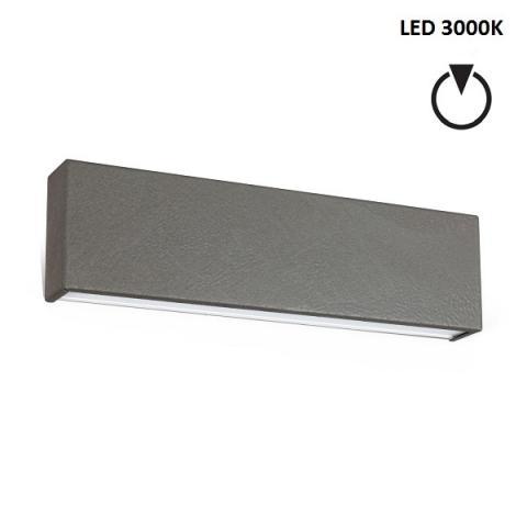 Аплик M - LED 14W 3000K - бетоново сив