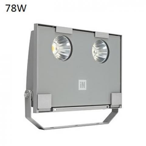 Floodlight GUELL 2 C/I LED 78W grey
