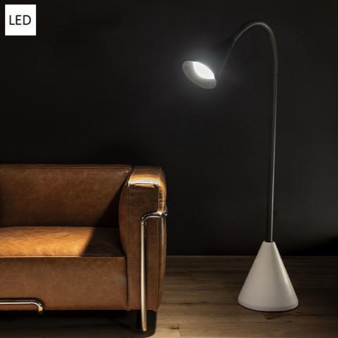 Floor lamp LED 19W IP40 black