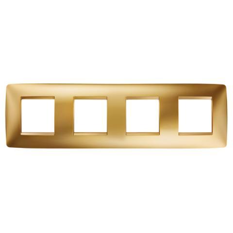 Рамка ONE International 2+2+2+2 хоризонтална - Gold