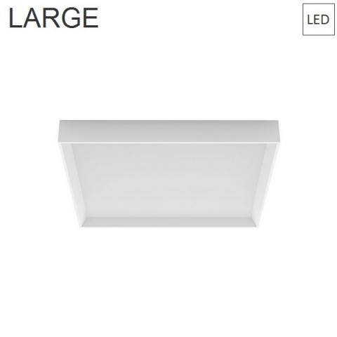 Wall/Ceiling Lamp 500x500 45W 3000K LED white