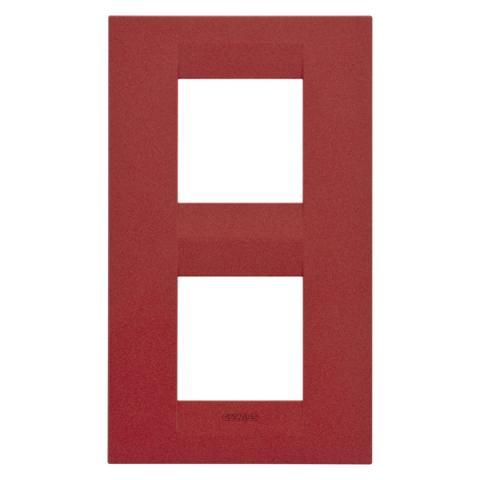 Рамка GEO International 2+2 вертикална - Ruby