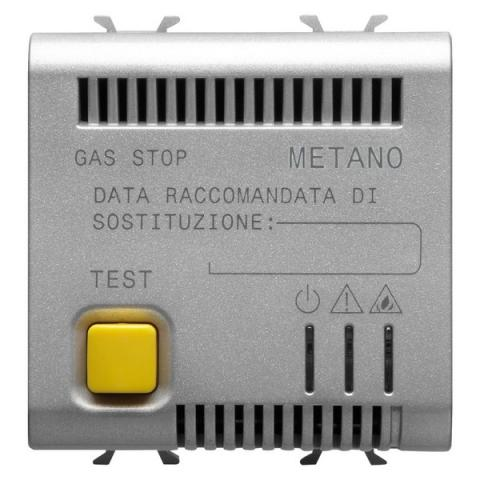 Methan detector with accoustic and visual alarm, 12V ac/dc