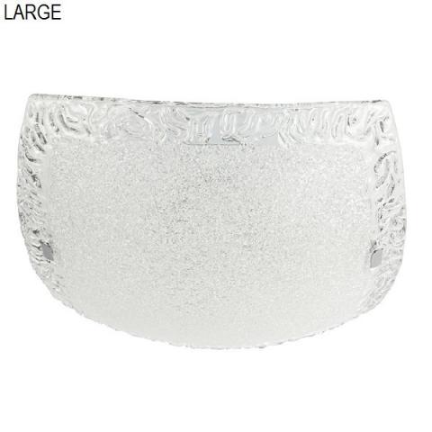 Плафон 50cm 2xE27 max 57W кристал