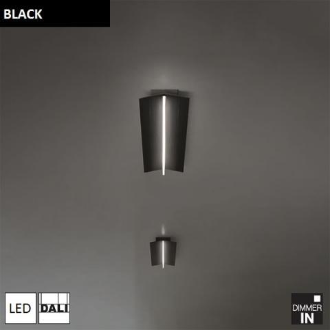 Ceiling Light 700mm LED DALI black