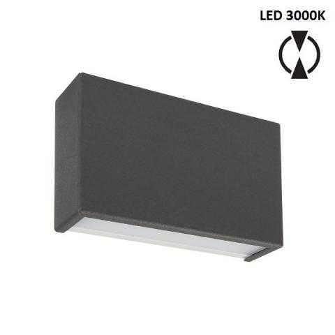 Аплик S - LED 10W 3000K - бетоново сив
