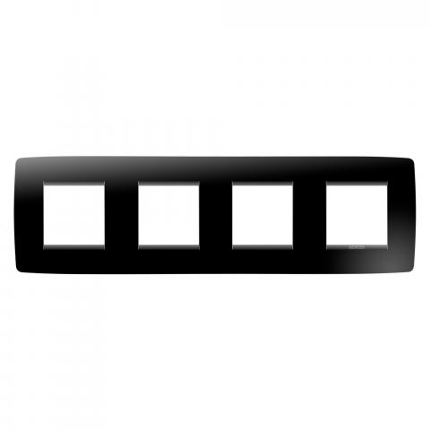 Рамка ONE International 2+2+2+2 хоризонтална - Toner Black