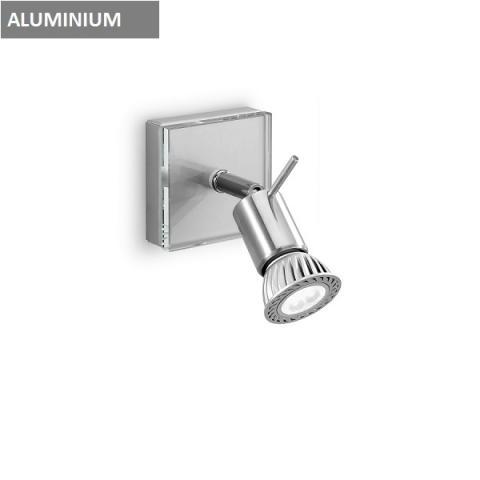 Аплик - спот 1xGU10 алуминий