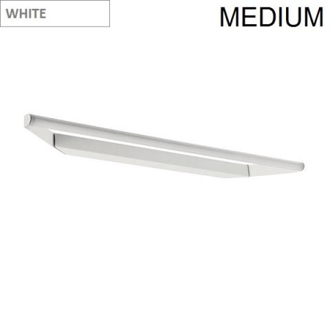 Directional wall/ceiling light 63cm LED 11W IP40 white