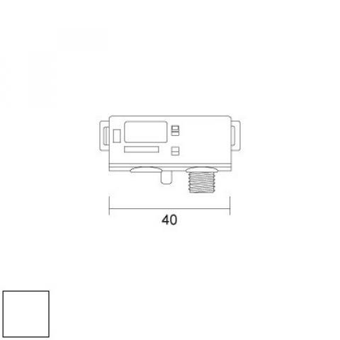 Електрически адаптер за шина, 12V-5А-1kg