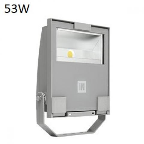 Прожектор GUELL 1 A/W LED 53W сив