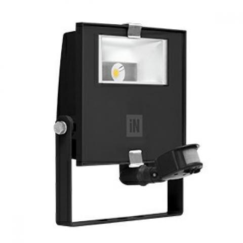 Прожектор GUELL ZERO DETEK A/WLED 15W черен, сензор за движение