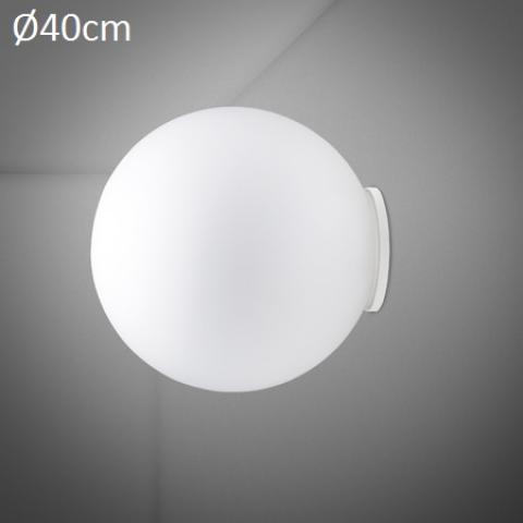 Wall/ceiling lamp Ø40cm E27 White