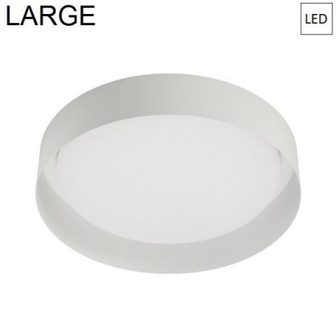 Плафон Ø402mm LED 22W 3000K бял