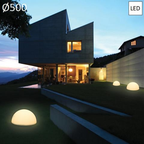 Garden floor lamp Ø500 LED IP65