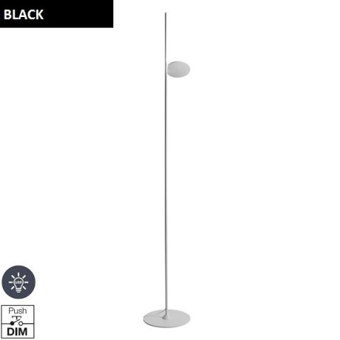Floor Lamp LED black