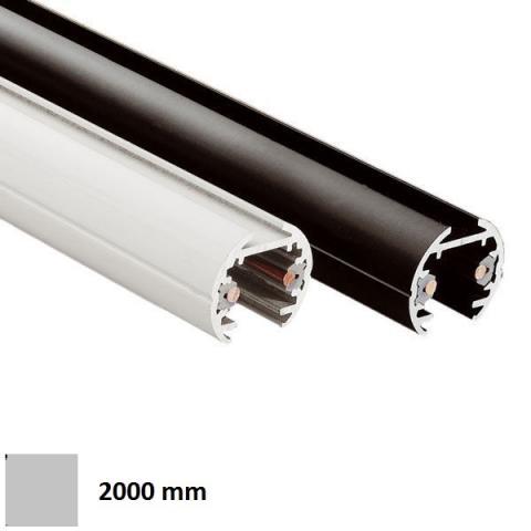 Low-voltage track ELV 2m silver