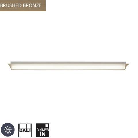 Ceiling Light 1300mm LED DALI brushed bronze